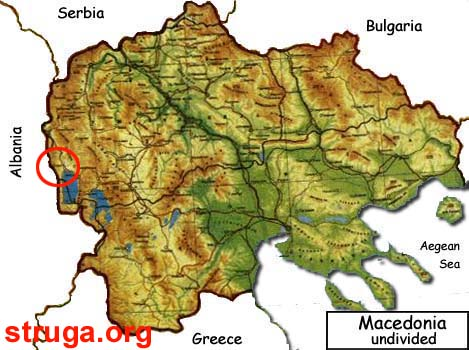 Mapa na Makedonija Mapa na Makedonija